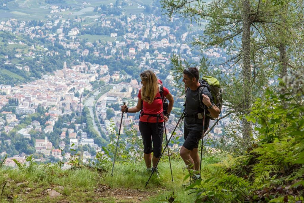Circular Hike on Marlinger Berg Mountain