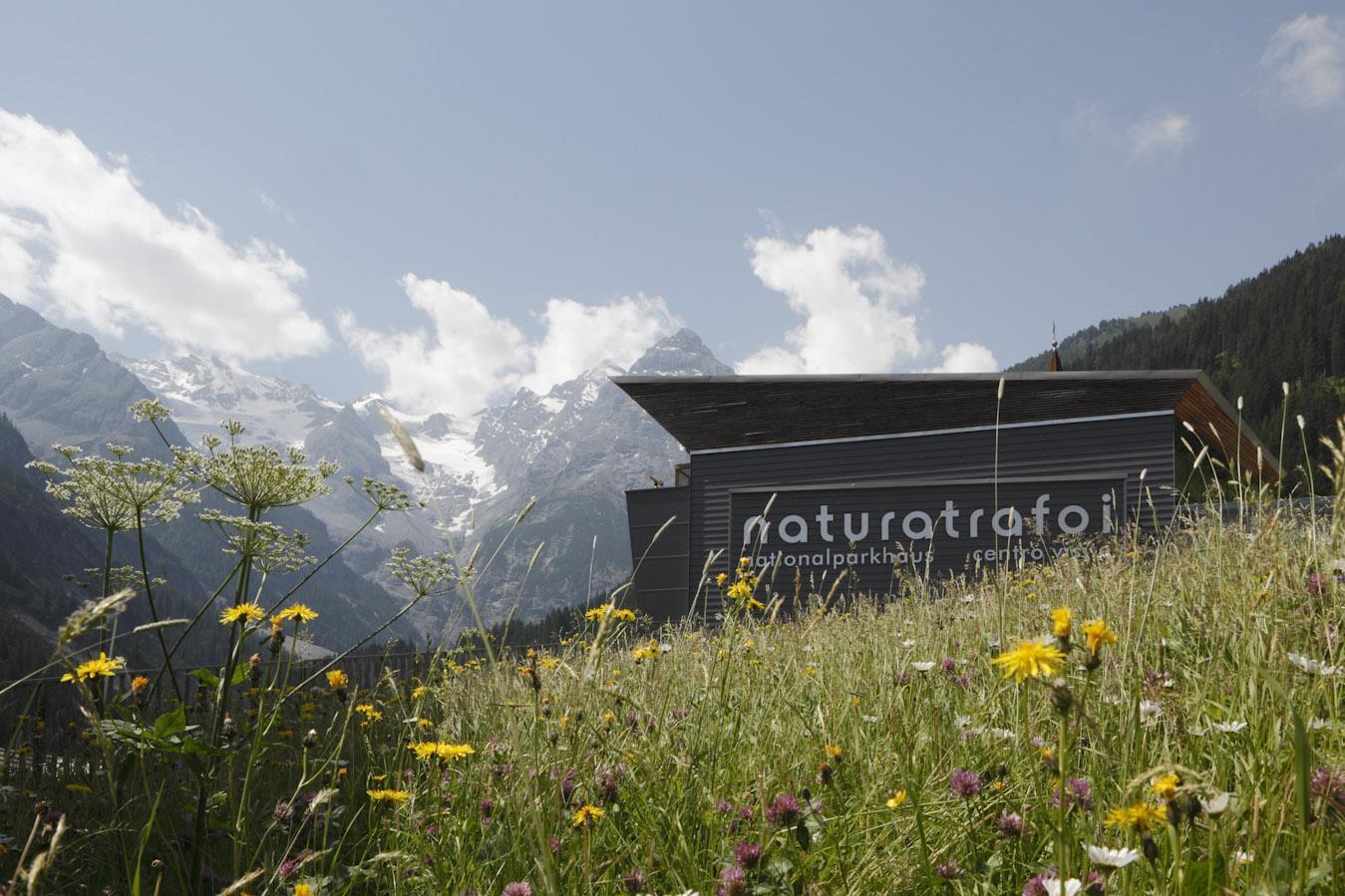 National Park visitor centre naturatrafoi