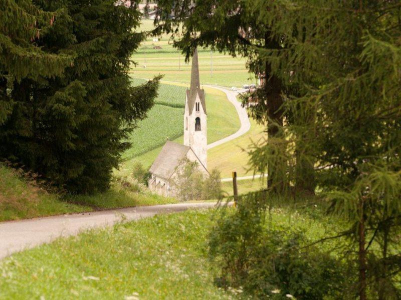 "Niederdorf - Moosweg ""Mooskirche"" - Niederdorf"