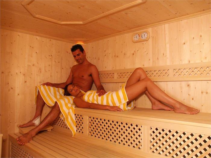 Saunabereich des Hotel Stefaners