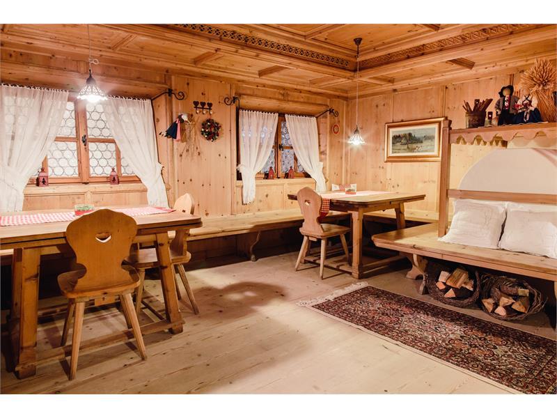 Stube tirolese alla reception- Hotel Waldsee, Fié allo Sciliar