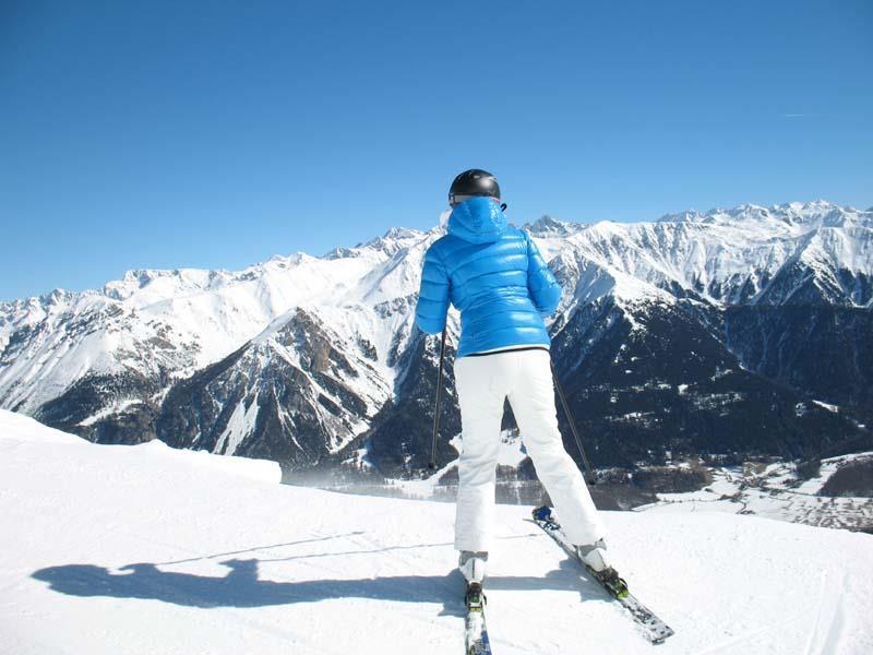 Skifahren im Obervinschgau