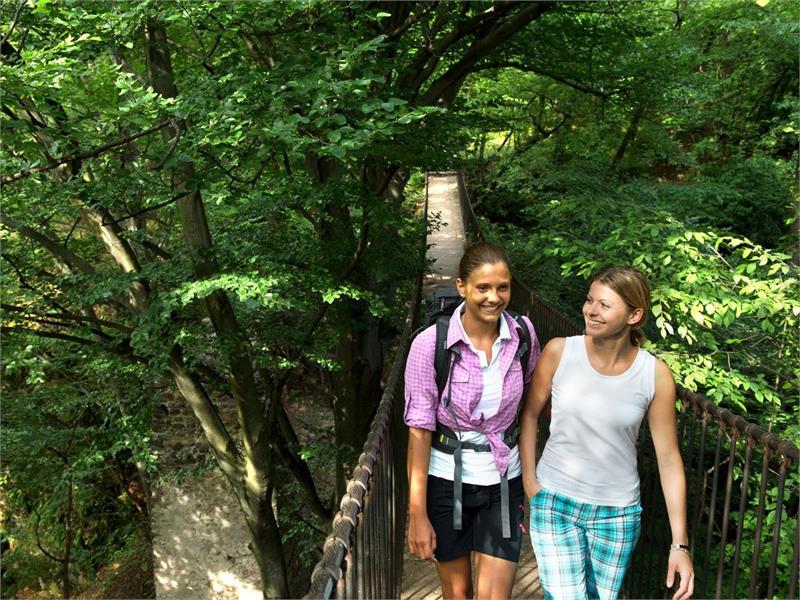 La gola Rastenbach tra Castelvecchio e il lago di Caldaro