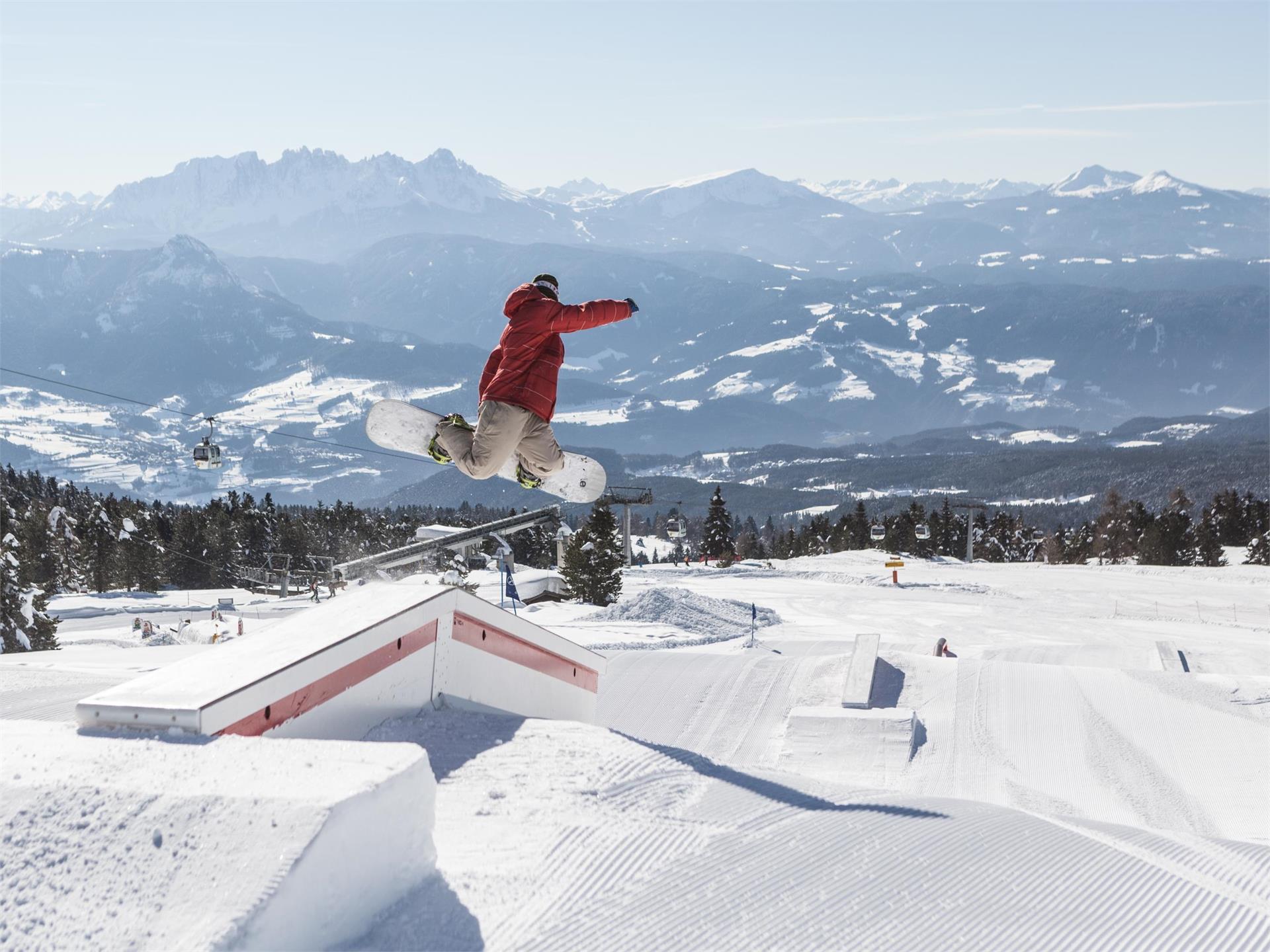 Snowpark am Rittner Horn