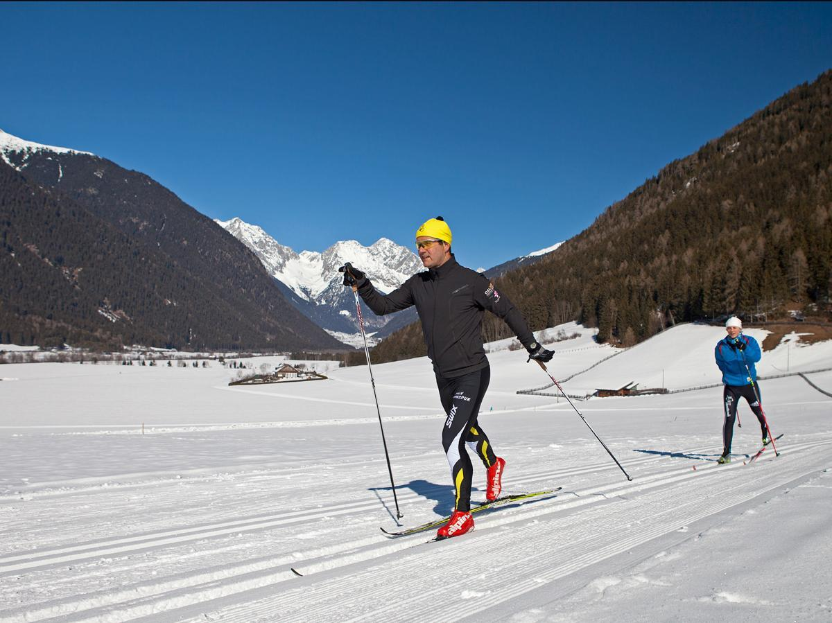 Cross-country skiing teacher Gerold Sulzenbacher