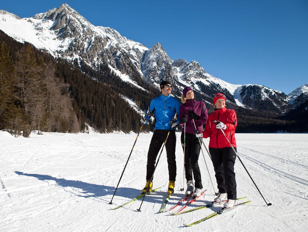 cross country skiing Valle Anterselva Antholzertal