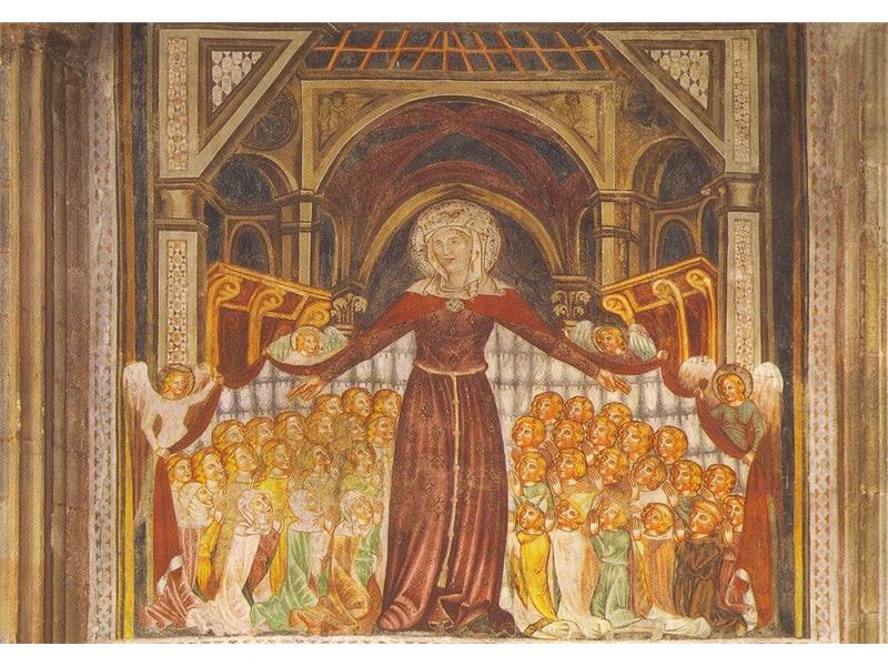 La Madonna del mantello