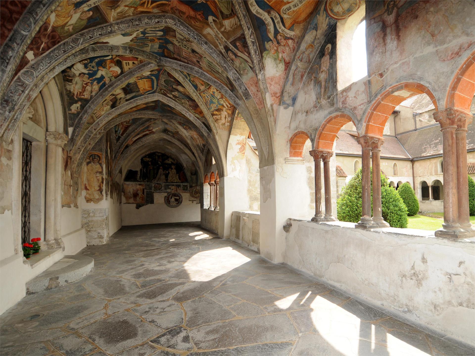 Il chiostro di Bressanone