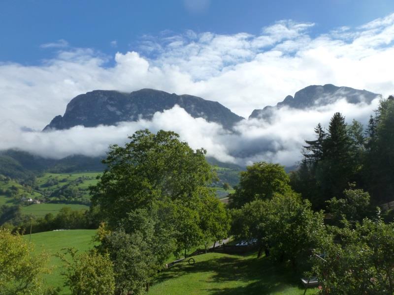 Atemberaubender Ausblick von der Terrasse- Schantlhof, Völs am Schlern