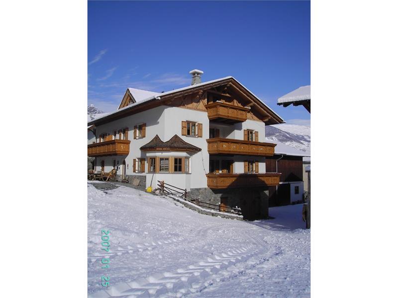 Hof am Schloss im Winter
