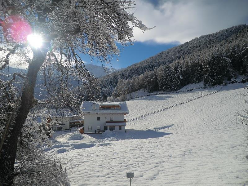 giorno d`inverno soleggiata