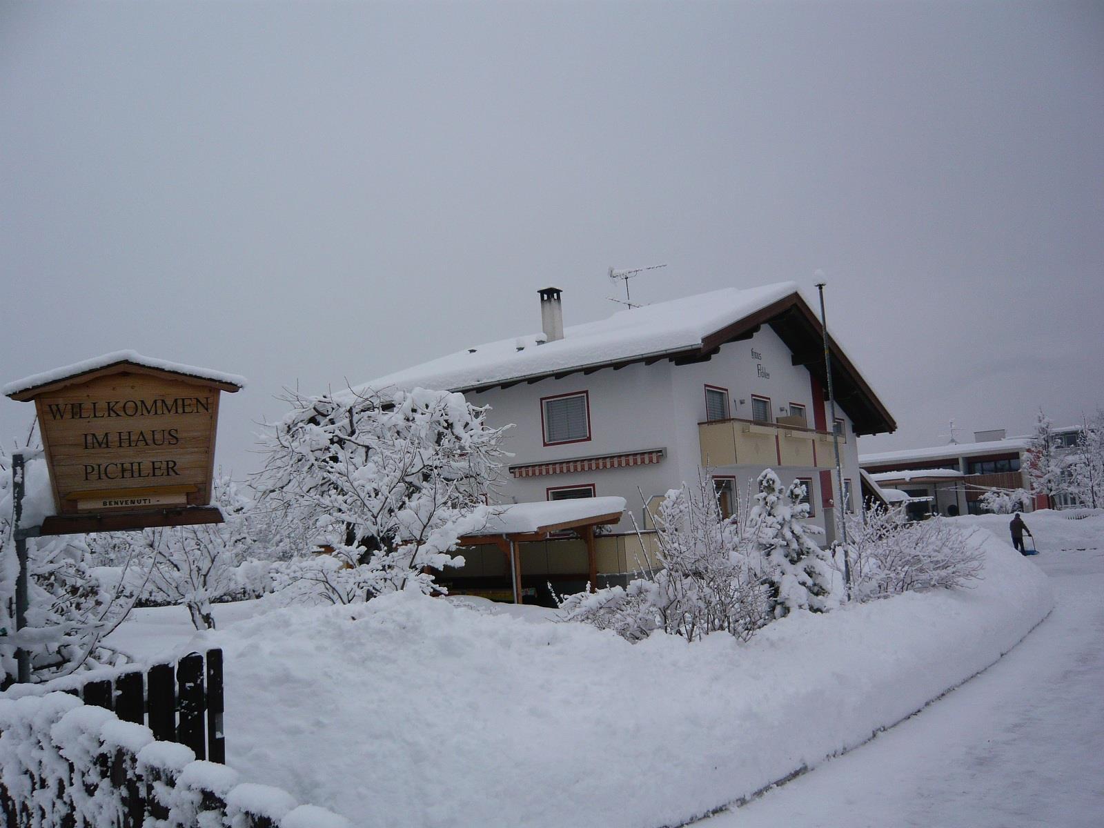 La nostra casa privata in inverno