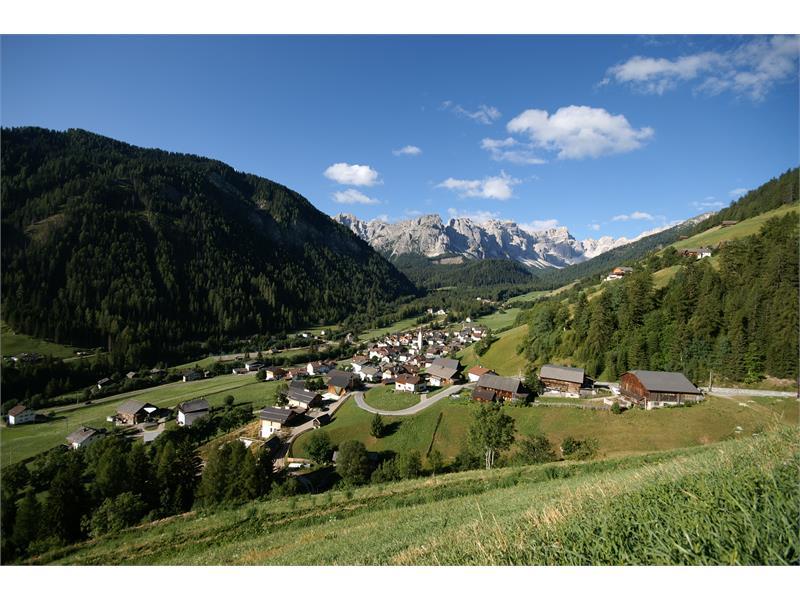 Das Dorf Lungiarü