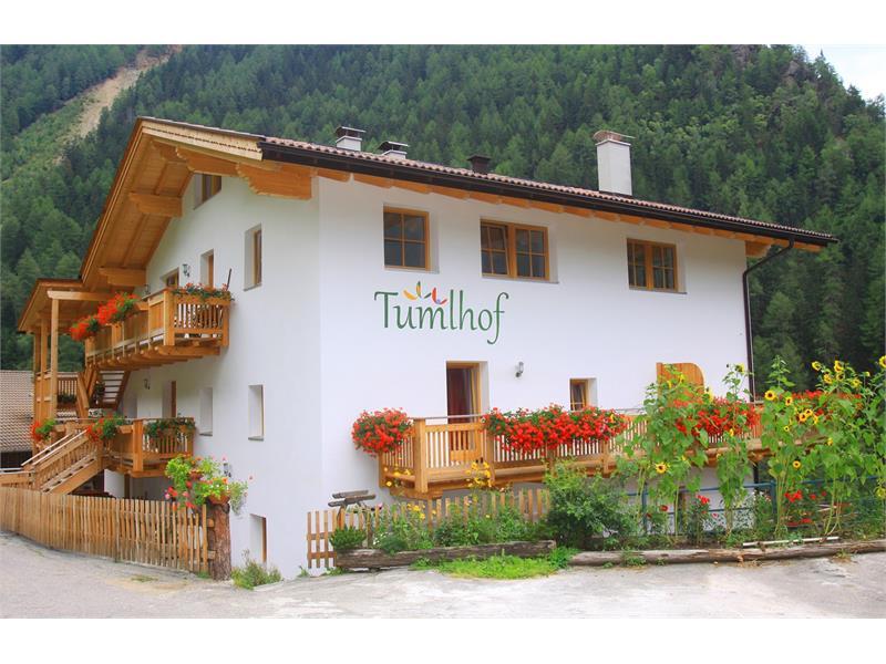 Maso Tumlhof in estate - Agriturismo, Val Senales