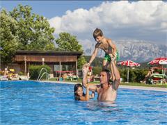Schwimmbad in Oberbozen am Ritten