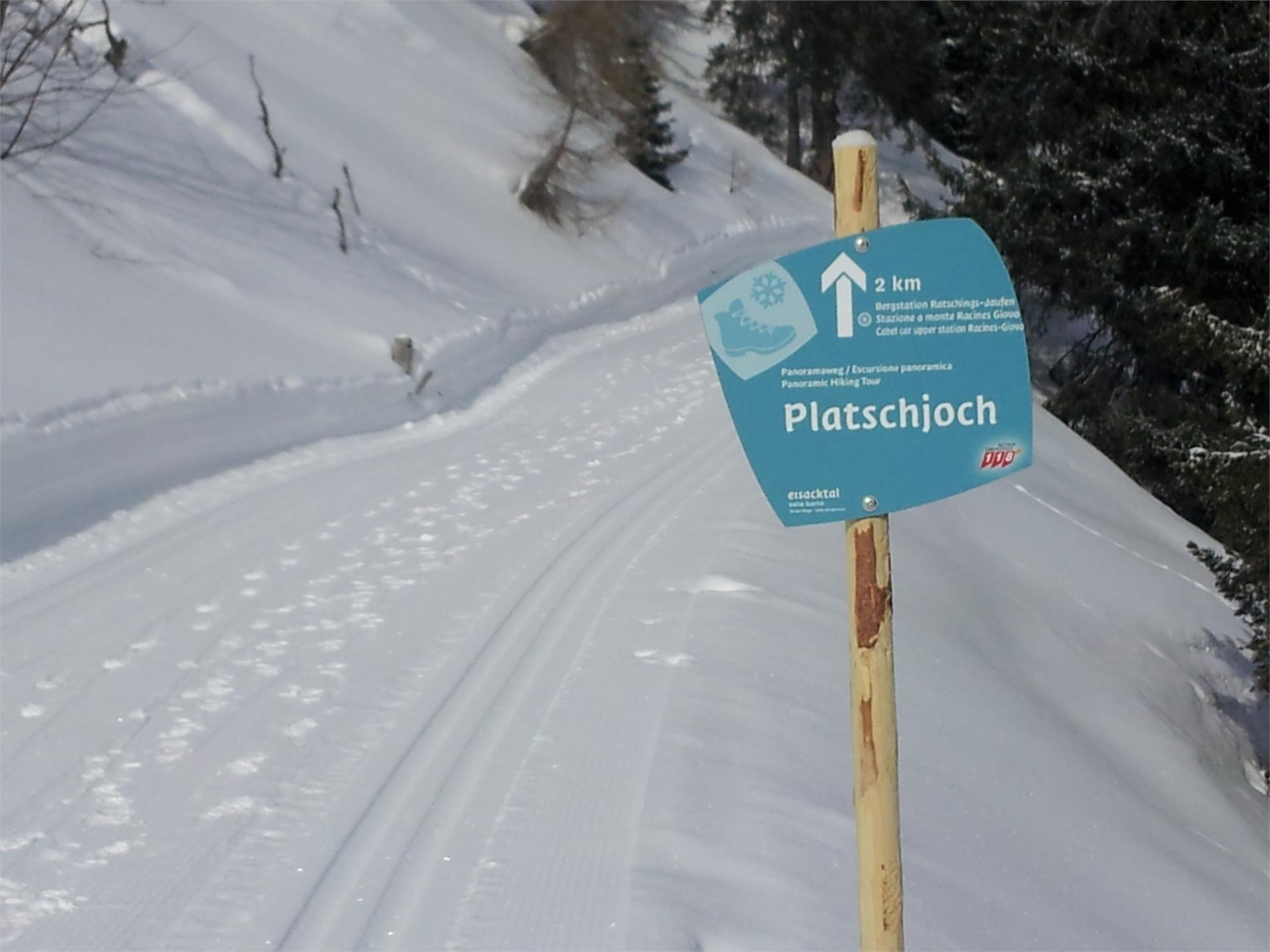 Platschjoch high-altitude slope