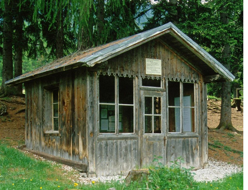 Gustav Mahler's small house of musical creation