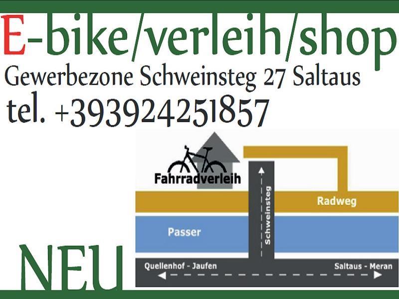 Outdoorstudio noleggio bici e shop