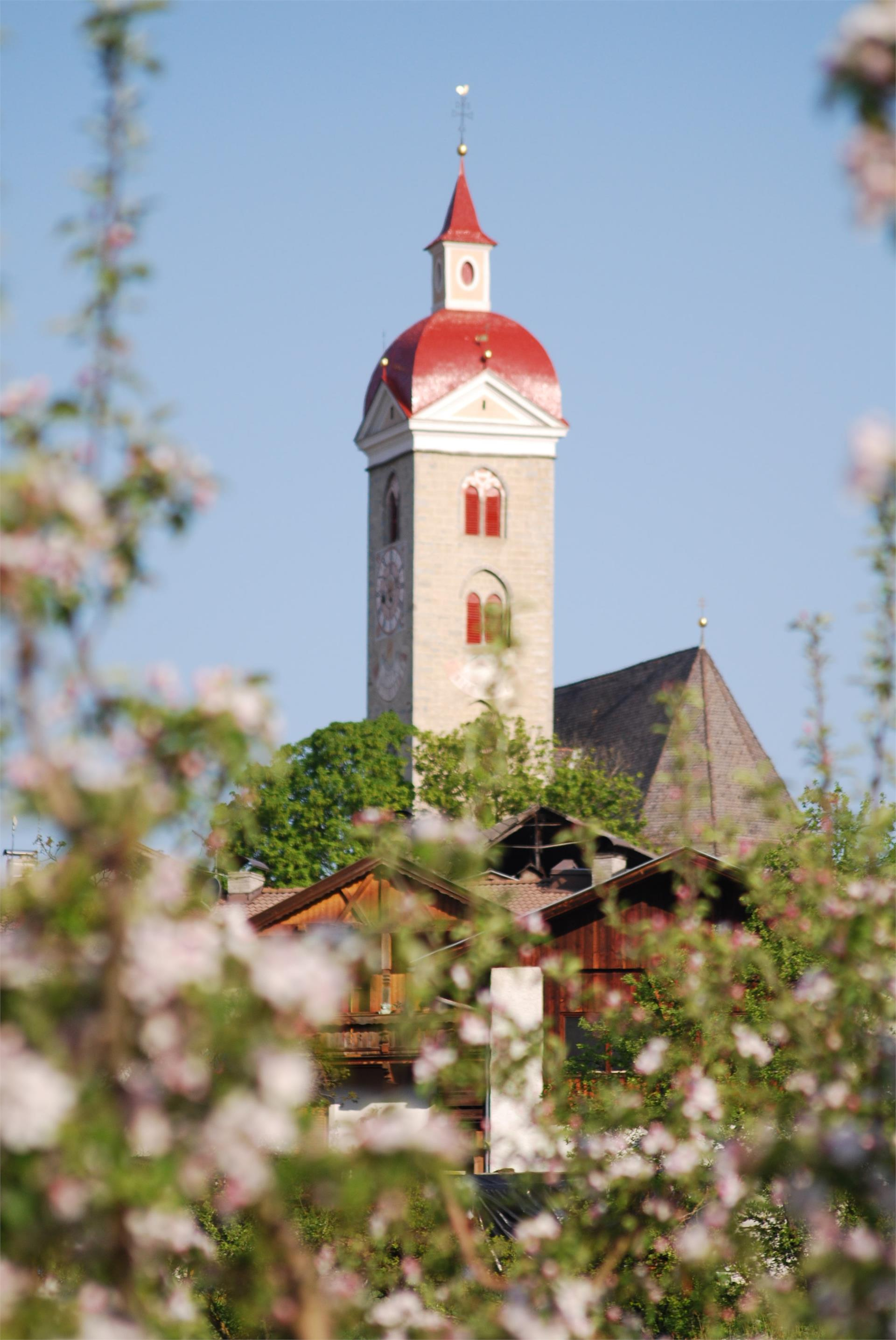 Parish church of the Saints Philip and Jacob in Natz