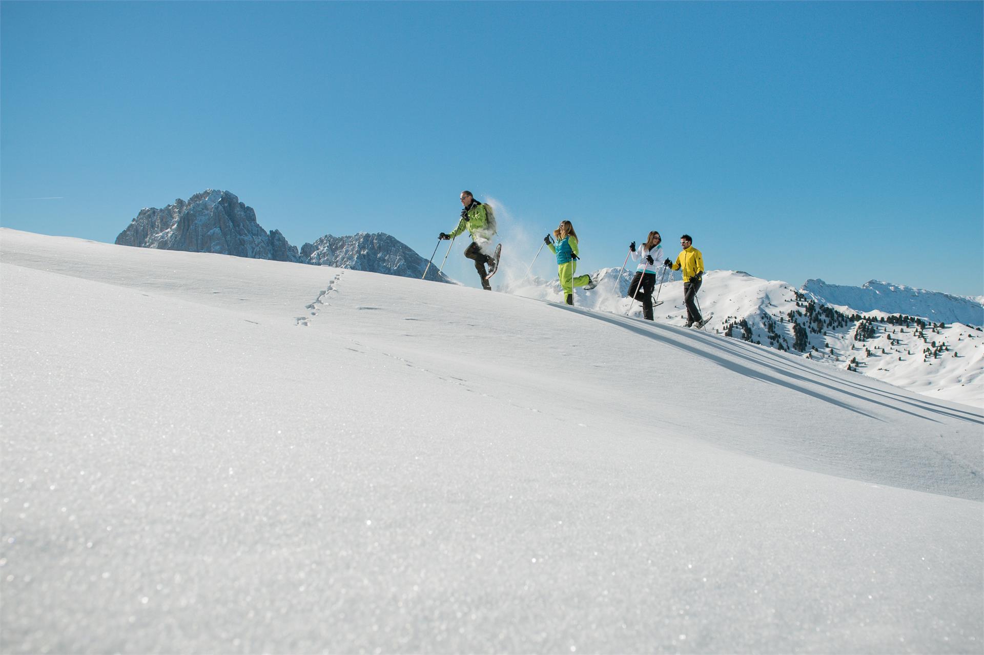 Snowshoewalk in Vallunga/Langental