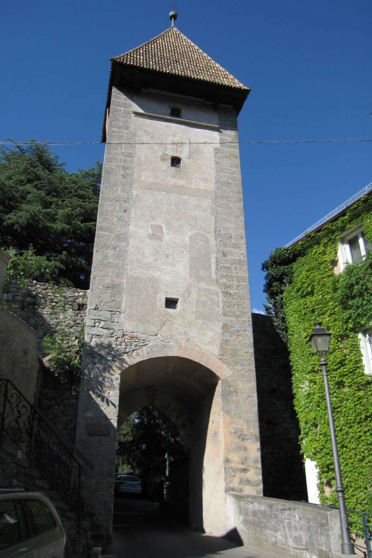 """Town gate """"Passiria Gate"""""""