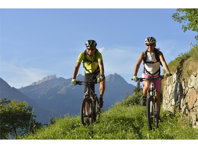 Per Mountainbike und Rennrad in Naturns