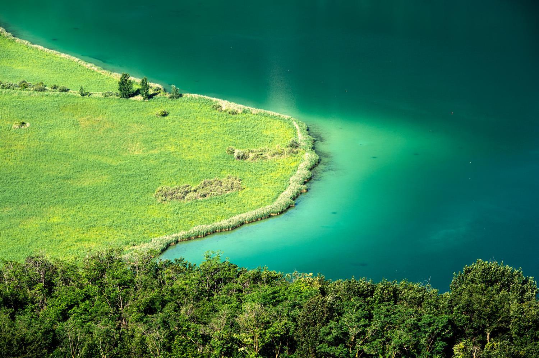 Das Biotop am Kalterer See