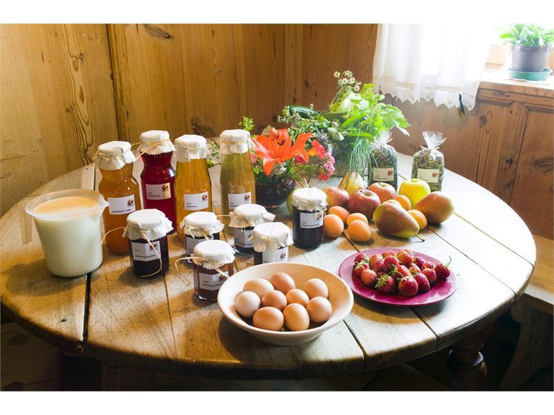 prodotti fatti in casa da Nusserhof