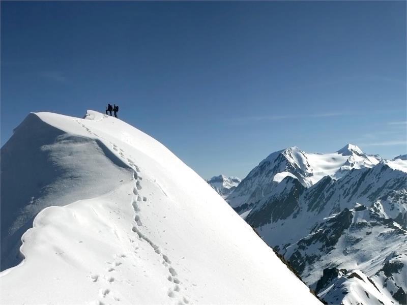 Cima Felbe sci alpinismo
