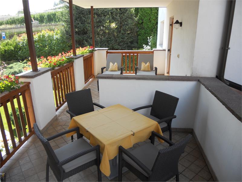 Terrace apartment Apfel