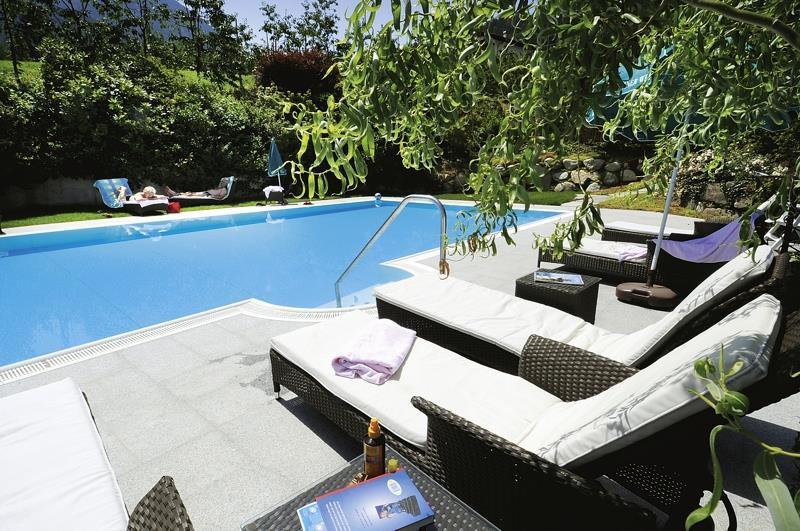 Schwimmbad bei der Villa Birkenhof