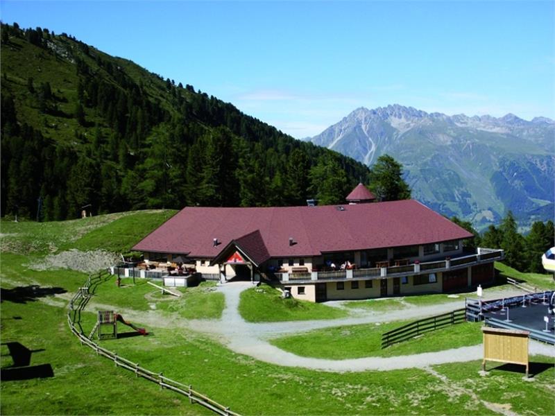 Alpine pasture Malg San Valentino