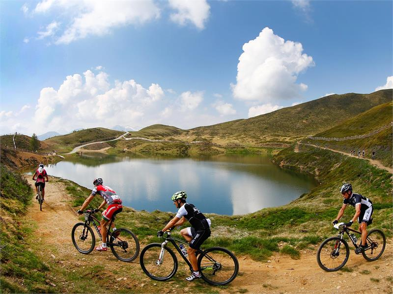 Mountainbiken am Pfaffensee