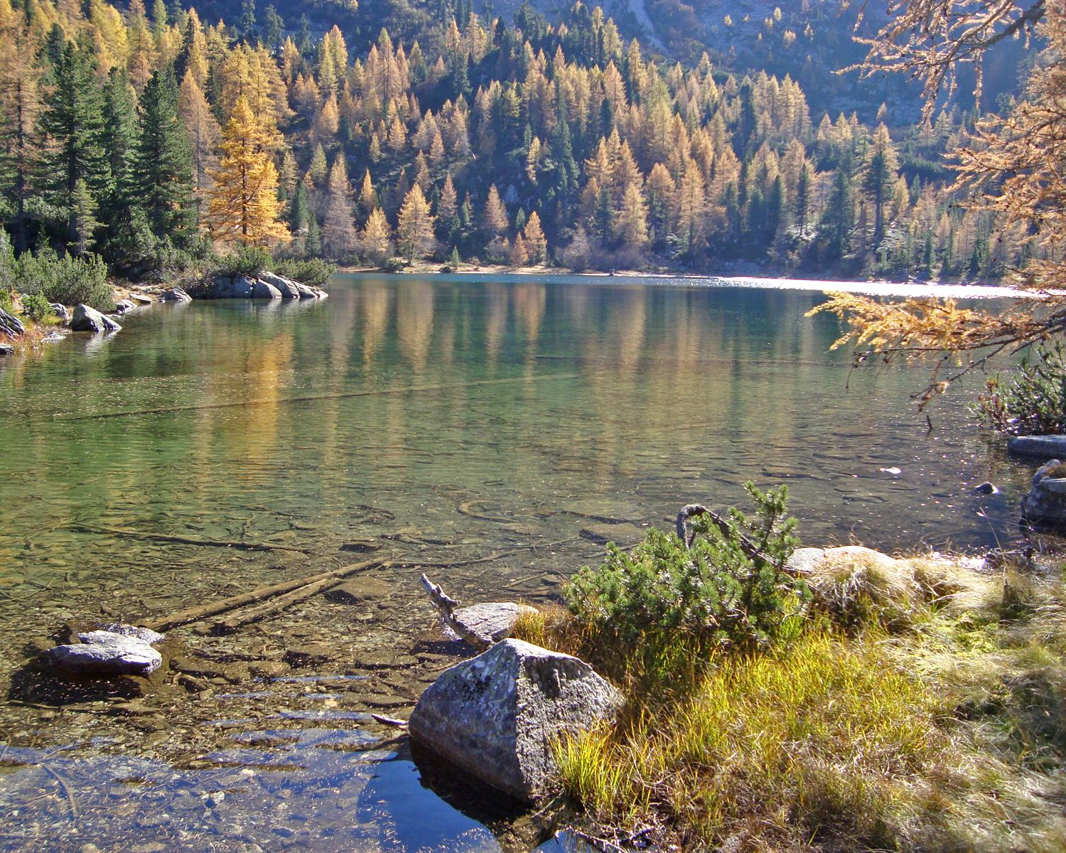 From Pfulters to the Puntleider See lake