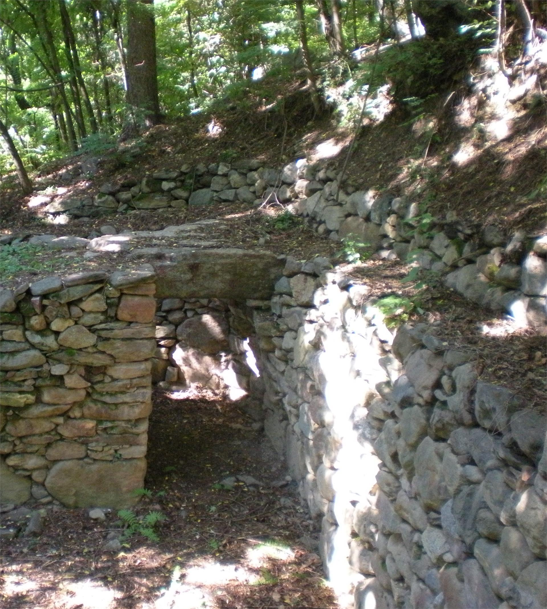 Burgstall Prehistoric Settlement Site in Rifiano/Riffian