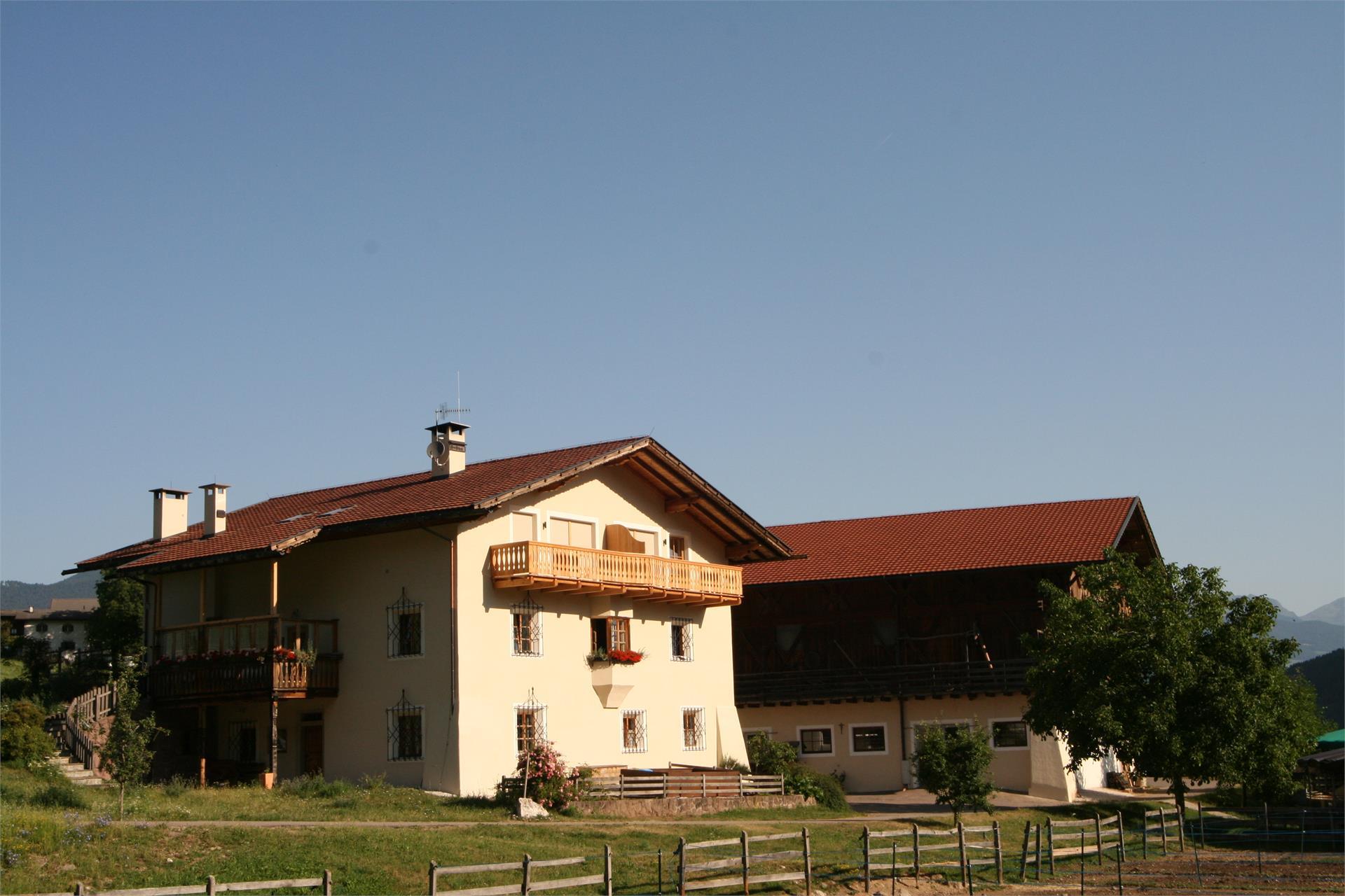 Aussenansicht Haus und Hof, Trafunshof- Völs am Schlern