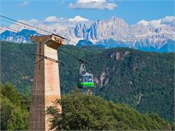 Cable car of San Genesio/Jenesien