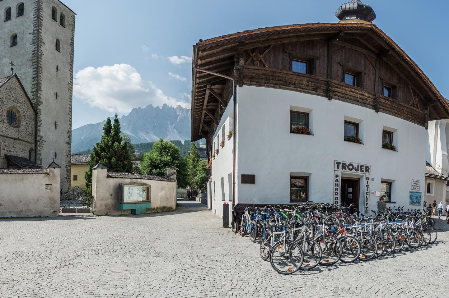 Bike rental Trojer Martin San Candido Innichen