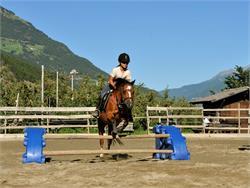 Horse riding at Bio Reiterhof Vill in Silandro