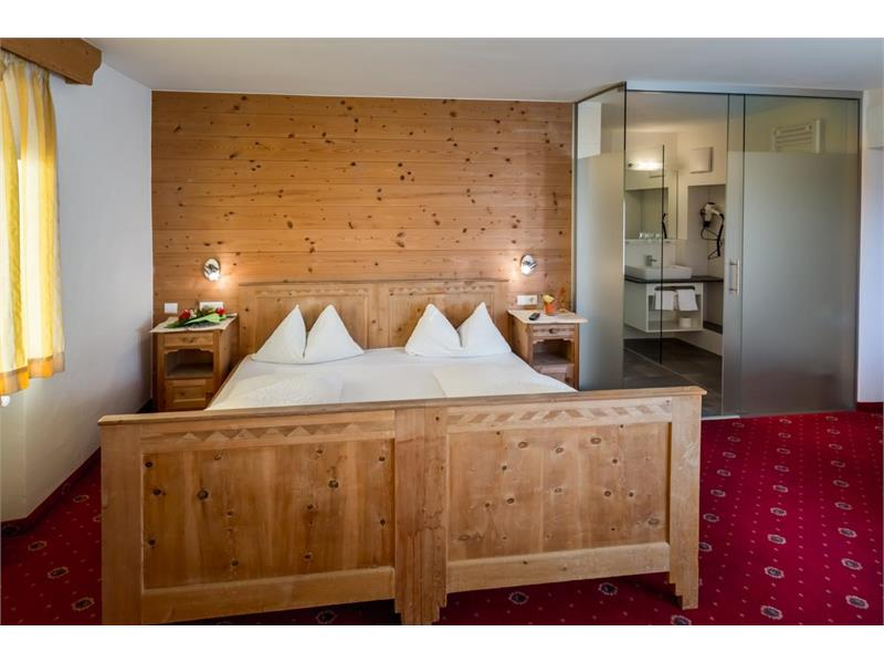 Tyrolean-style hotel room