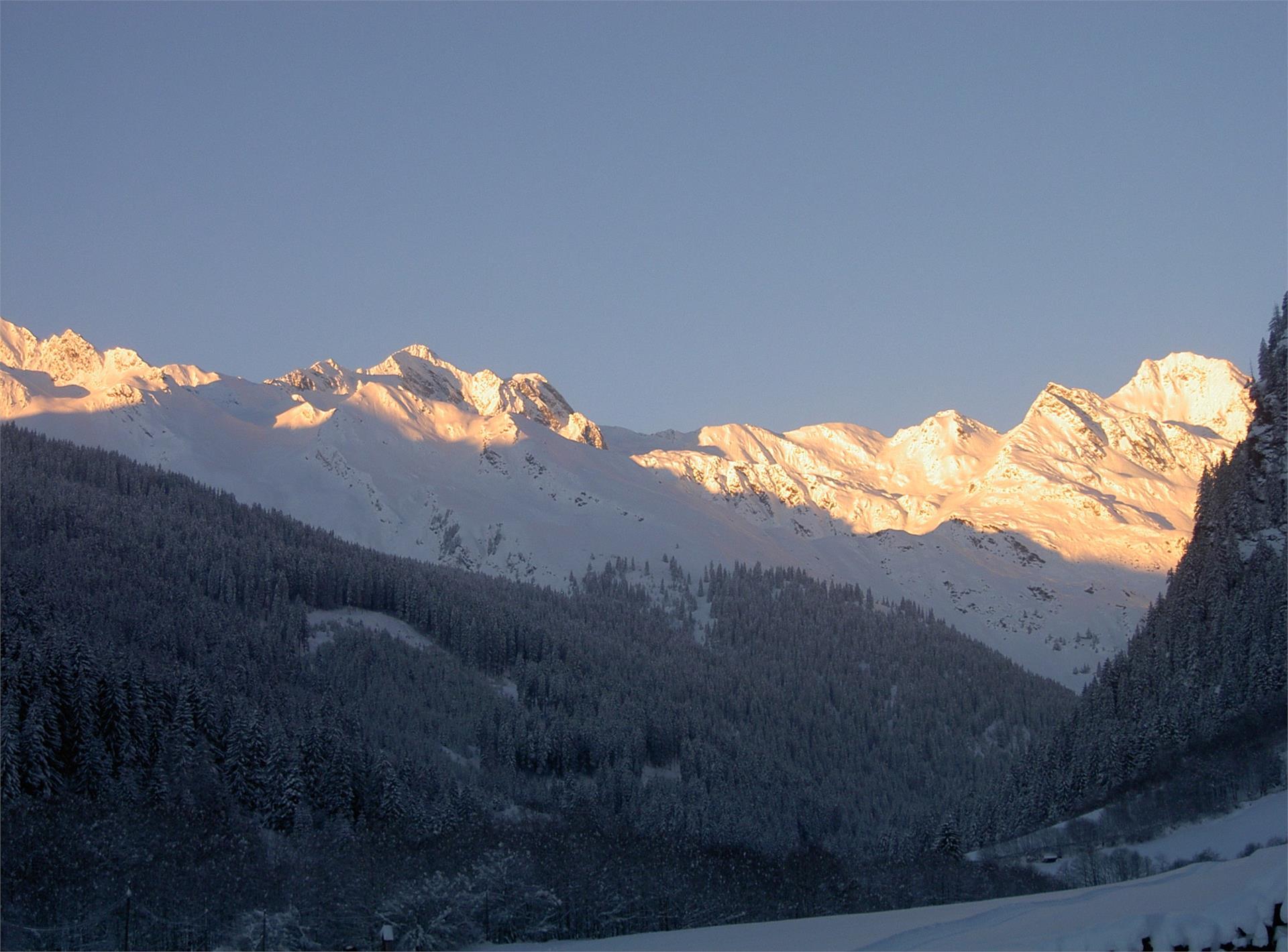 Bergwelt im Winter
