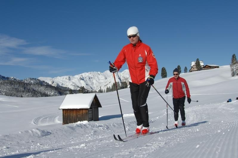 Cross-country skiing in Innichen/San Candido