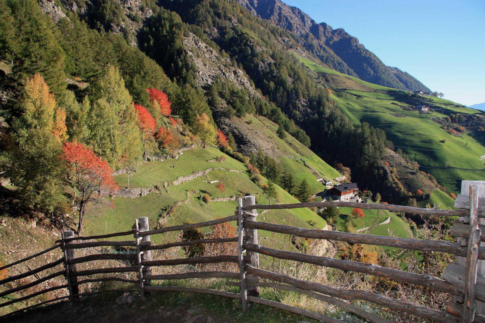 Meraner Höhenweg West – die 1000-Stufen Schlucht bis nach Katharinaberg im Schnalstal