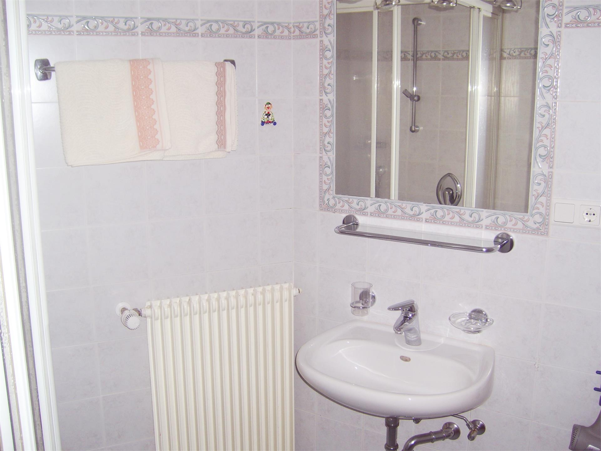 Appartment 8 Badezimmer