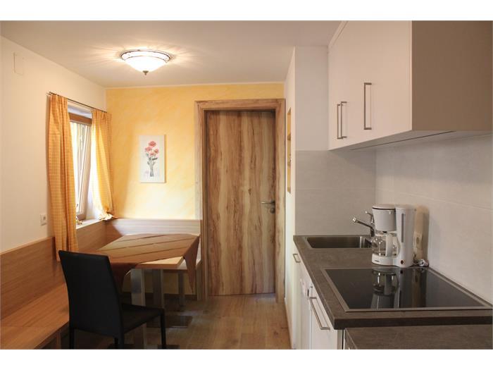 Küche in der neuen Wohnung- Hieblerhof, Völs am Schlern