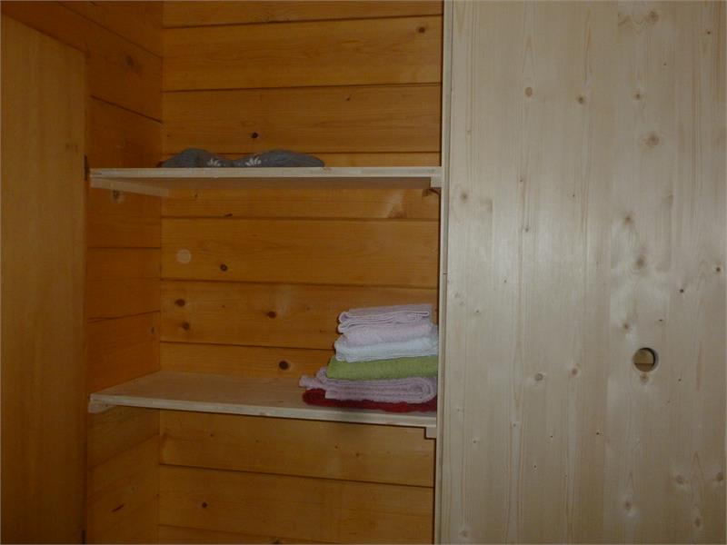 Shelves in bath room