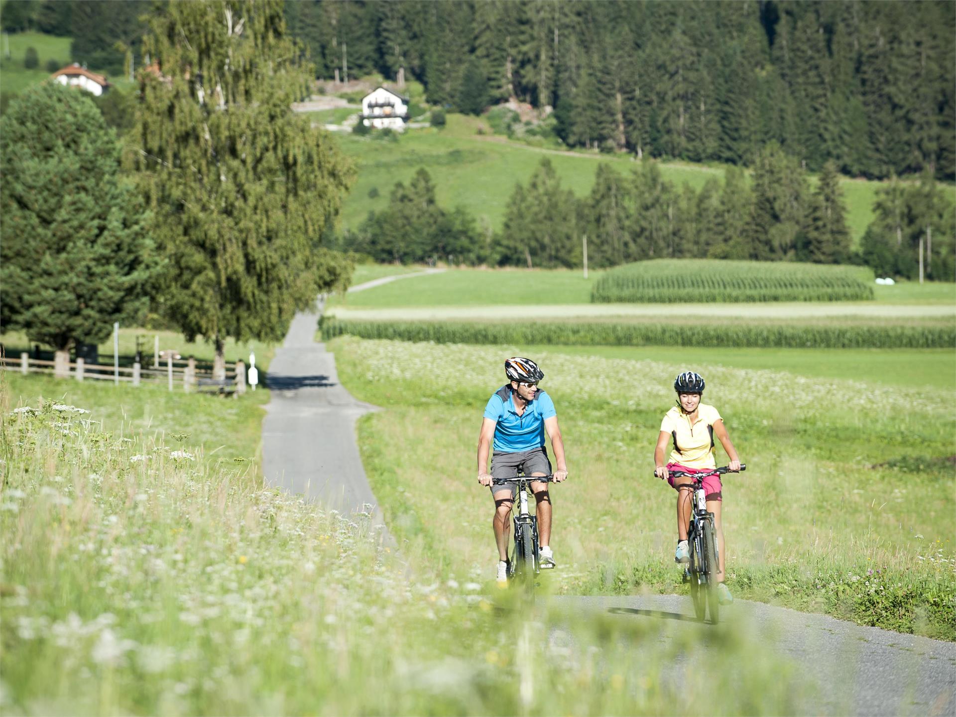 Pustertal Valley bikeway Valdaora/Olang