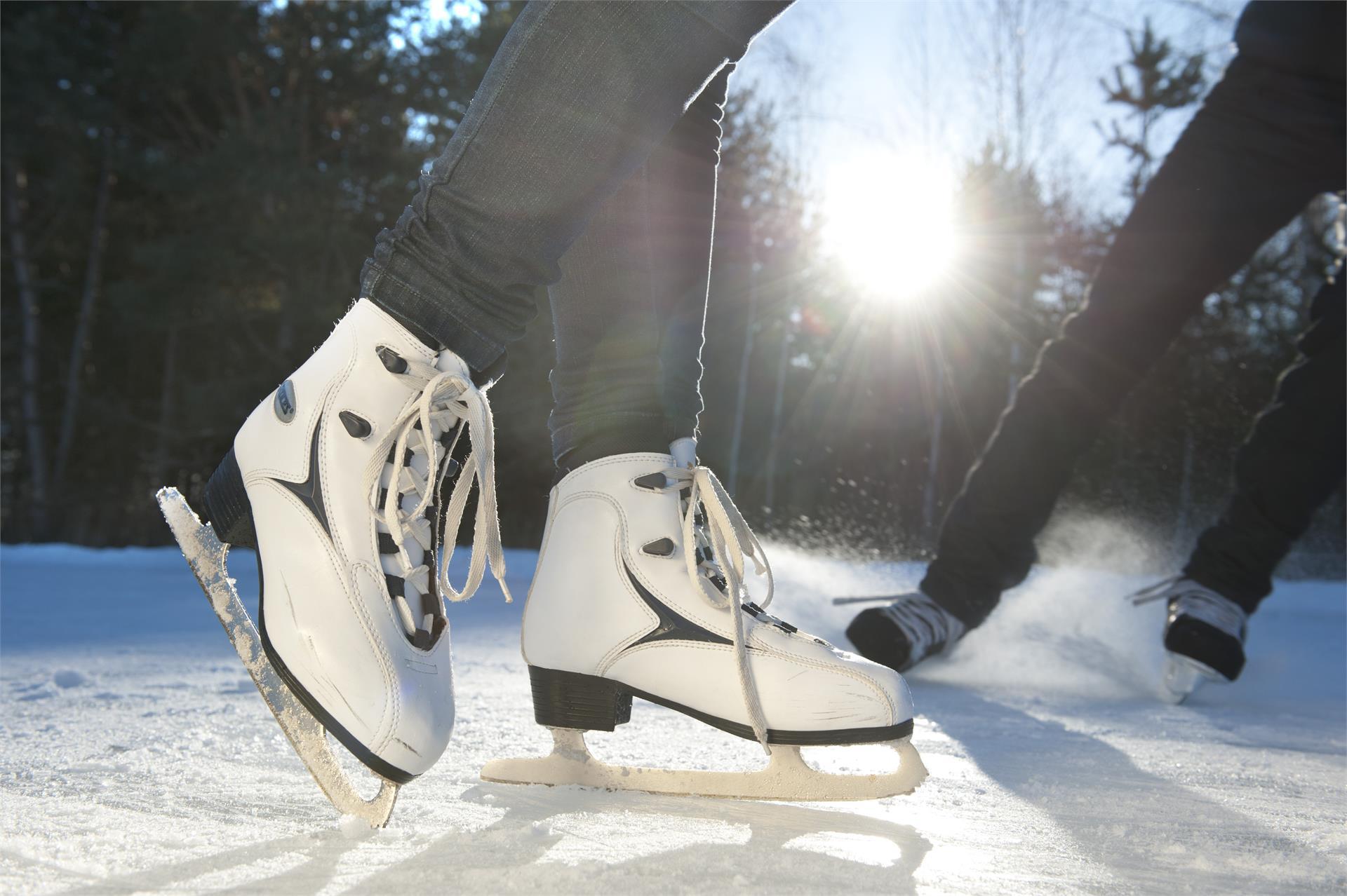 Ice rink Valdaora di Sotto