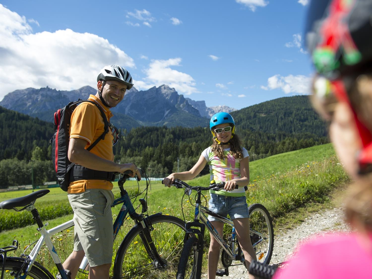 Pustertal Valley Cycle Trail: Innichen/San Candido - Bruneck/Brunico