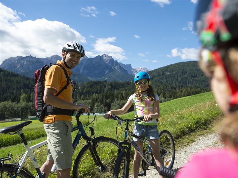 biking in San Candido Innichen Hochpustertal Alta Pusteria